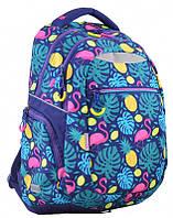 Стильный  молодежный рюкзак    YES  T-23 Flamingo Dream  для девочек