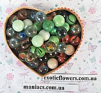 Декоративный стеклянный камень, Микс №1, фото 1