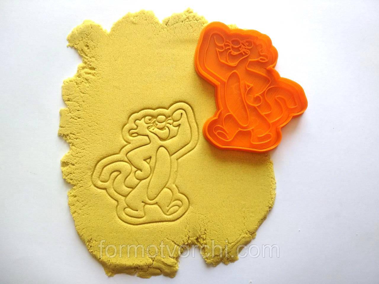 """3D формочки-вырубки для пряников """"Тигрюля. Винни Пух"""""""