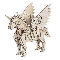 Механический 3D пазл Единорог