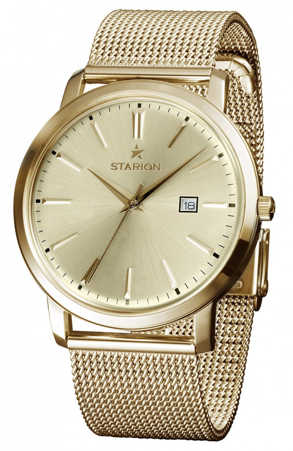 Годинник STARION A570 Gents G/Champagne браслет
