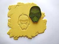 """3D формочки-вырубки для пряников """"Звездные войны.Кайло Рен"""""""