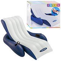 Надувное кресло-шезлонг Intex 58868, 180х135 см (Y)