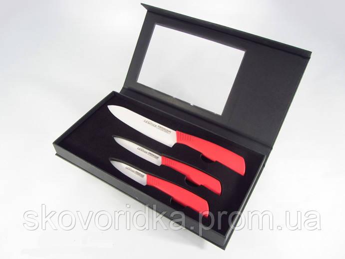 Набор кухонных керамических ножей 3 предмета Lessner Ceramiс Line Calvin 77111