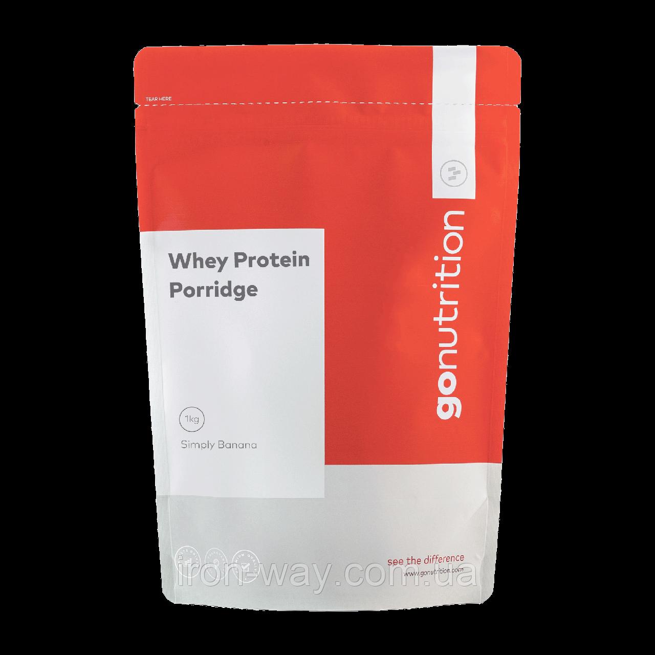 GoNutrition Whey Protein PORRIDGE 1000g (STRAWBERRY JAM)