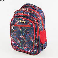 Школьный/прогулочный рюкзак для мальчиков с супергероями - красный - 17-006