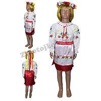 Украинский костюм для девочки 2 - 8 лет