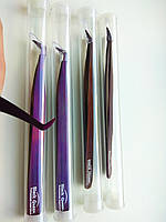 Пинцет Black Queen Volume Purple, фото 1