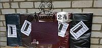 Дермантин для обивки входных дверей, бордовый, фото 1