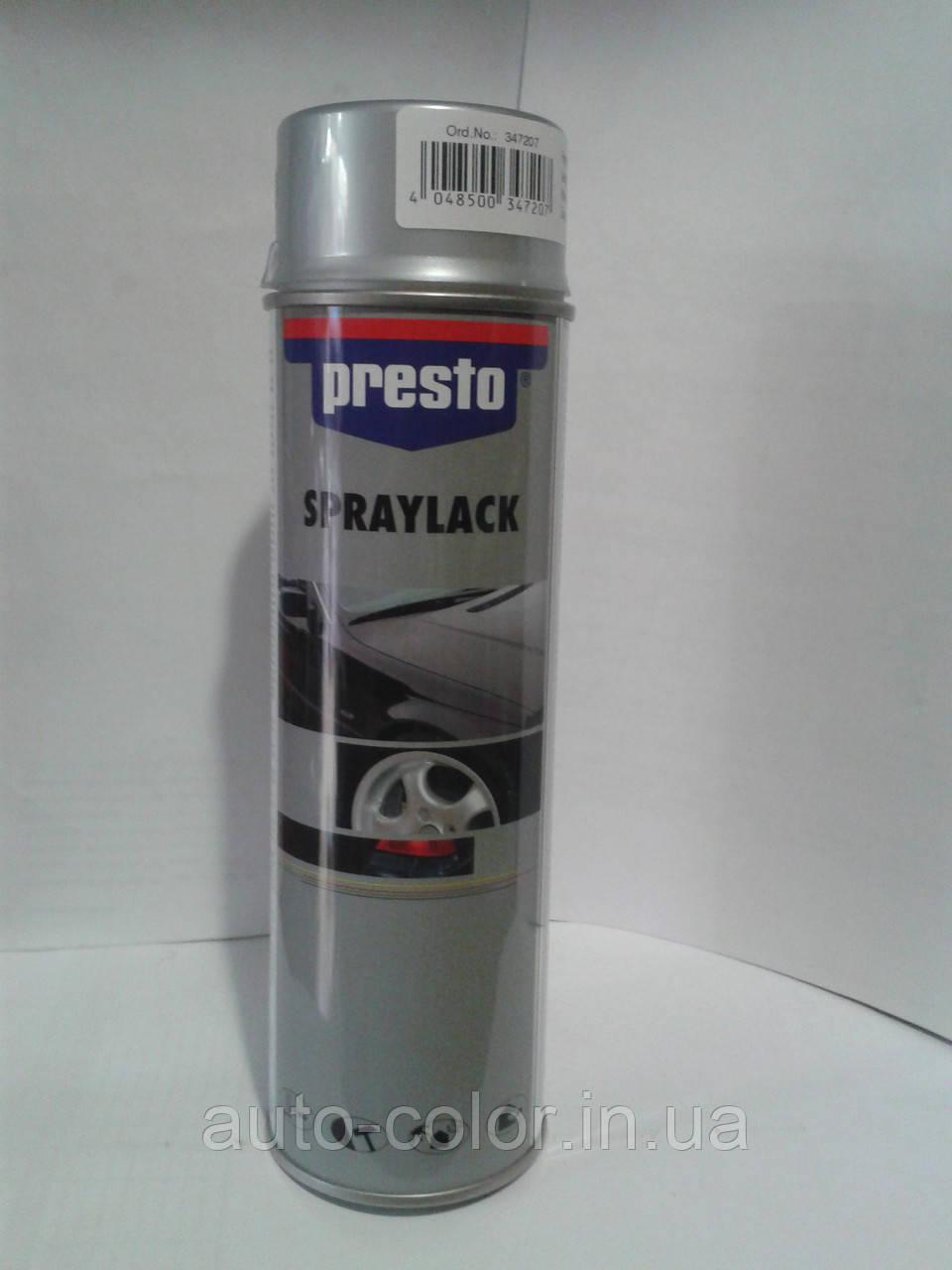 Фарба для дисків срібло Престо (Presto) 500мл