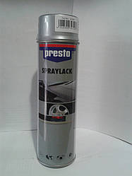 Краска для дисков серебро  Престо (Presto) 500мл
