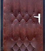 Комплект для обивки входных дверей, темно-коричневый, фото 1