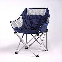 """Кресло """"Ракушка"""" d19 мм (серо-синий), фото 1"""