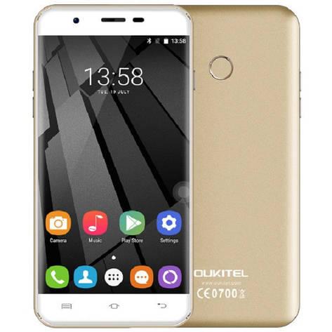 Oukitel U7 Plus 2/16Gb Gold Гарантия 1 Год!, фото 2
