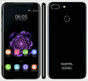 Oukitel U20 Plus 2/16GB Black Гарантия 1 Год!