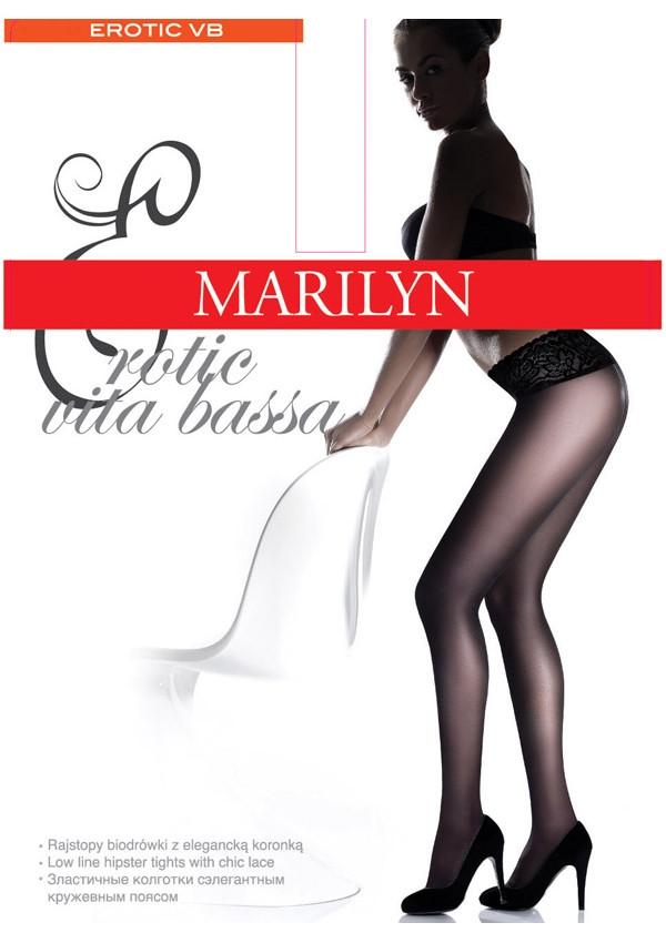 Колготки женские Erotic Vita Bassa 30 den (3356) TM MARILYN