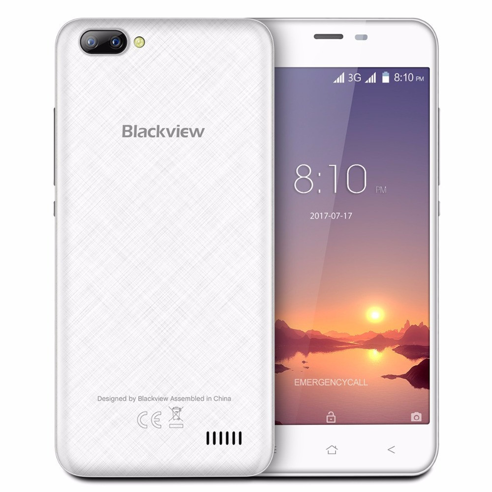 Blackview A7 1/8Gb White Гарантия 1 Год!