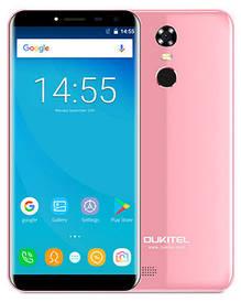 Oukitel C8 2/16Gb Pink Гарантия 1 Год!