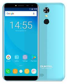 Oukitel C8 2/16Gb Sky blue Гарантия 1 Год!