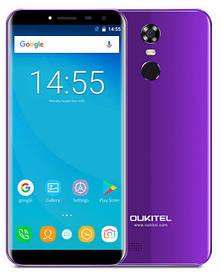 Oukitel C8 2/16Gb Purple Гарантия 1 Год!