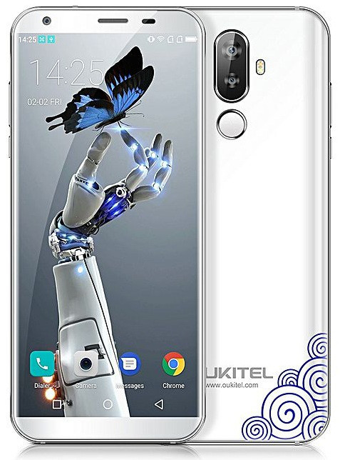 Oukitel K5 2/16Gb White Гарантия 1 Год!