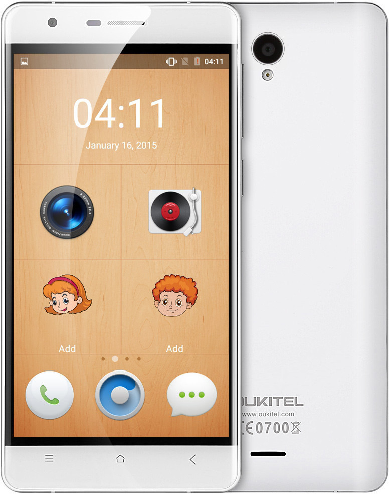 OUKITEL K4000 Plus 2/16Gb White Гарантия 1 Год!