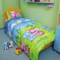 Подростковая постель ТЕП 537 Слоники