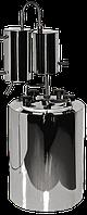 Дистиллятор бытовой с термометром на 30 / 20 / 12 литров. Нержавейка, охладитель, сухопарник