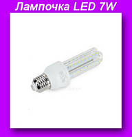 LED 7W,Лампочка LED 7W,Длинная светодиодная энергосберегающая,Лампочка LED!Спешите