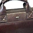 Кожаная сумка для документов и ноутбука Desisan, фото 10