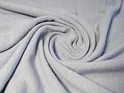 Ткань вискозный трикотаж джерси, серый