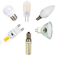 Светодиодные лампы Biom (G4, G9, E14, E27, Е40, GU5.3, GU10, Т8)