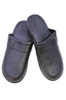 Кроксы мужские 6-04 черн