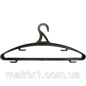 Вешалка пластик. для верхней одежды размер 48-50, 420 мм ТМ Elfe