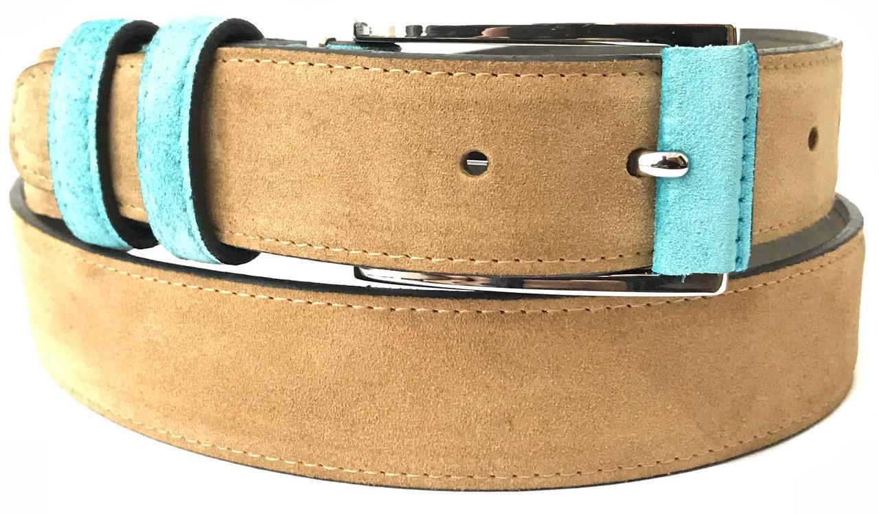 Ремень женский кожаный Pellagio 35311-56/91 3.5см коричневый