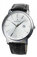 Годинник STARION A570 Gents S/Silver чорний рем.