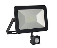 LED прожектор 30W с датчиком движения ElectroHouse, фото 1