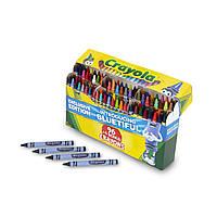 Crayola Набор восковых карандашей 96+4 (100 штук), точилка. Уникальные цвета Color 100 ct. Crayon Box, фото 1