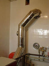 Ревизия дымоходная термо 1 мм н/оц AISI 304, фото 2
