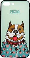 Чехол-накладка PUZOO Artdog Phone iPhone 7 Plus/8 Plus Green Baby, фото 1