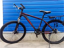 Спортивный велосипед TopRider 26 дюймов модель 700 цвет красный