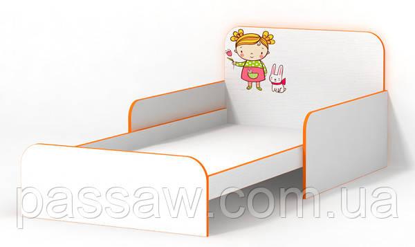 Кровать Мандаринка с бортиком