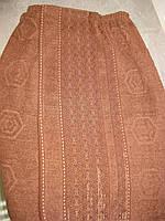 Парео мужское банное махровое (коричневое)