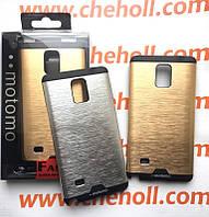 Чехол Motomo для Samsung Galaxy Note 4 N910H алюминиевый