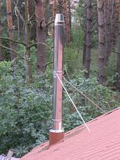 Конус термо дымоходный 1 мм н/н AISI 304, фото 2