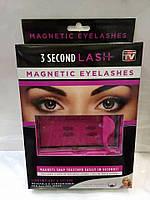 Ресницы на магнитах набор 3 Second Lash Magnetic Eyelash Kit, накладные ресницы, макияж