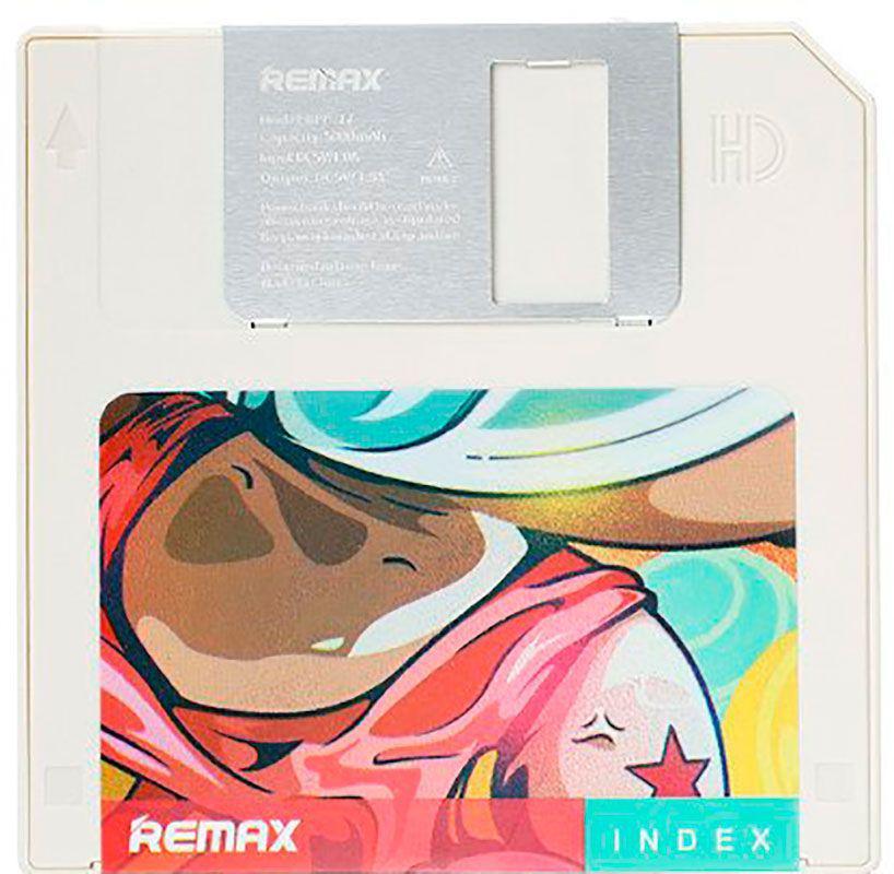 Портативная батарея Remax Power Bank Floppy Series RPP-17 5000 mAh White