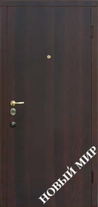 """Входные двери """"Новосел М 3.1"""" Темный орех (ПМЛ) 2040х880х115 мм"""