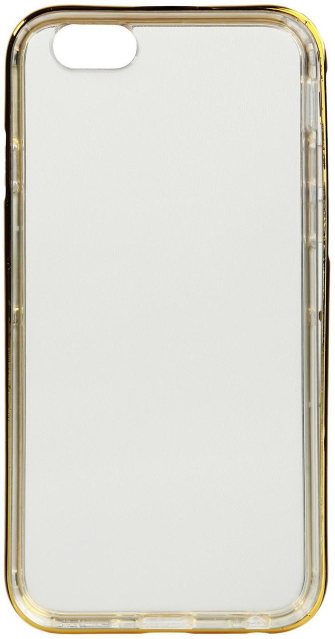 Чехол-накладка TOTO TPU Case+PC Bumper iPhone 6/6s Gold