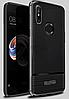 Антиударный силиконовый чехол Rugged Armor для Xiaomi Redmi Note 5 /  Xiaomi Redmi Note 5 Pro / Стекло /